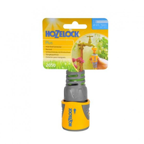 Hozelock Hose End Connector Plus (12.5mm & 15mm) 2050