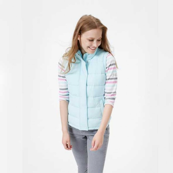 Joules Eastleigh Cool Blue Gilet