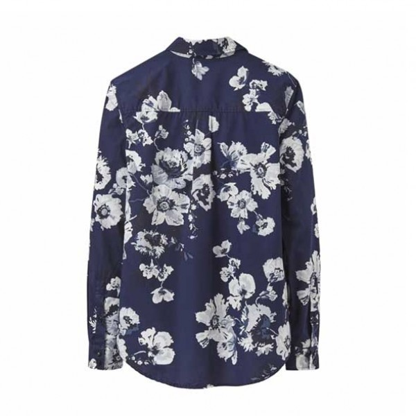 Joules Lucie French Navy Posy Shirt