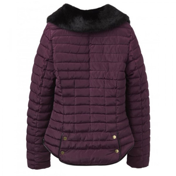 Joules | Clothing - Coats - Joules Gosfield Burgundy Padded Jacket