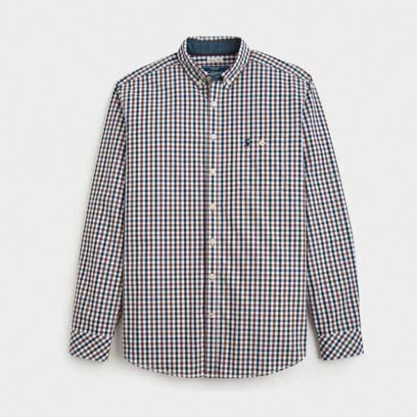 Joules Midnight Gingham Hewney Classic Fit Shirt