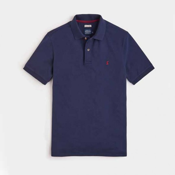 Joules Mens Woody Classic French Navy Polo Shirt