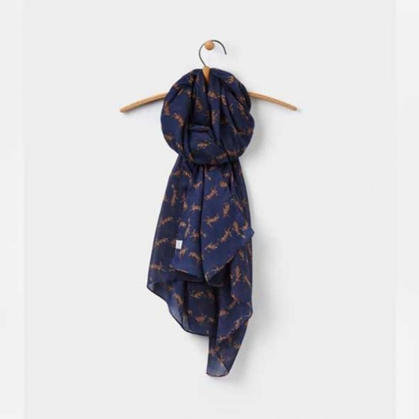 joules Wensley French Navy Scarf