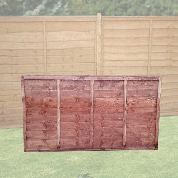 Lapped Fence Panel 3ft x 6ft