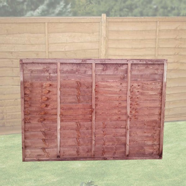 Lapped Fence Panel 5ft x 6ft