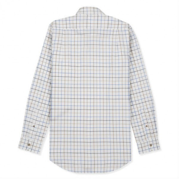 Musto Classic Check Twill Shirt - Farlan Gold