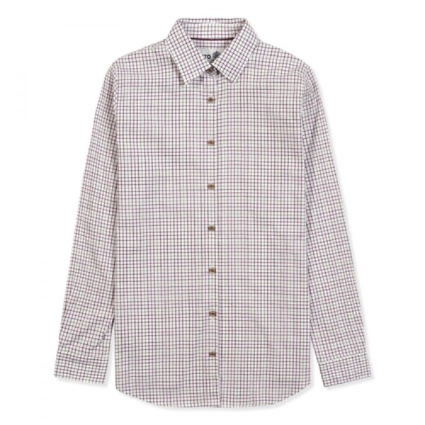 Musto Ladies Berry Check Country Shirt