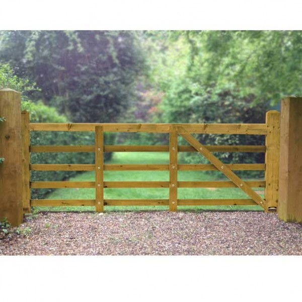 Norfolk Softwood Timber Gates 10ft