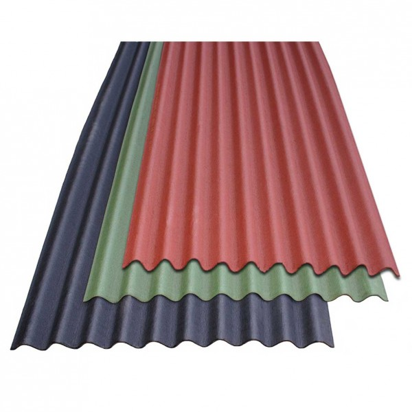 onduline red bitumen roofing sheet