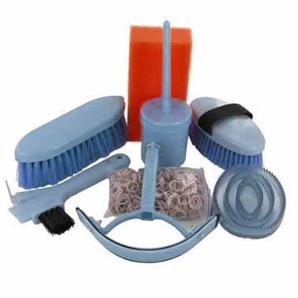 Cottage Craft 7 Piece Horse and Pony Grooming Kit Bare