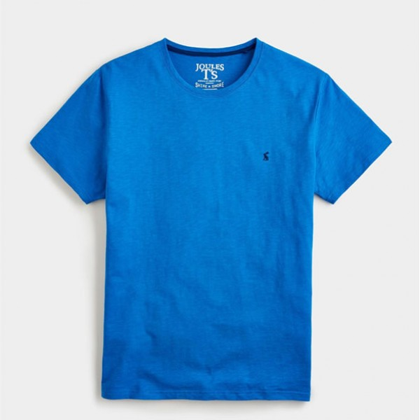Joules Plain Jersey T-Shirt French Blue