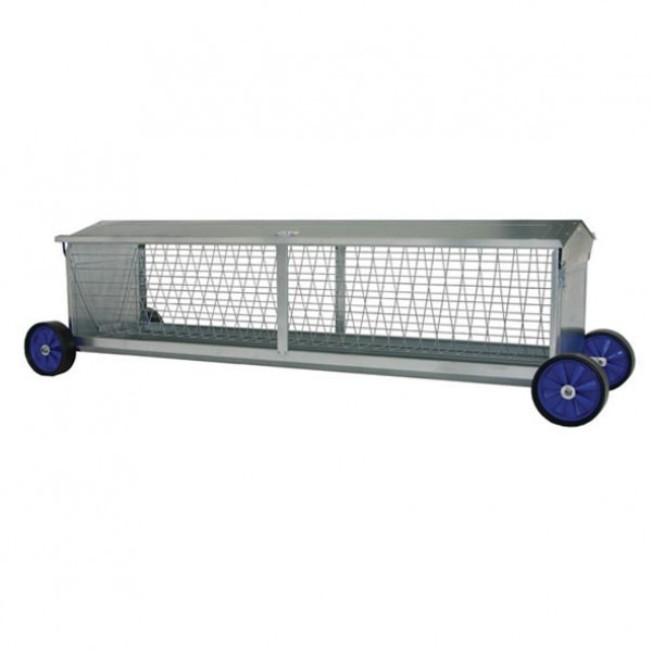 Portable Sheep Hayrack Feeder with Wheels