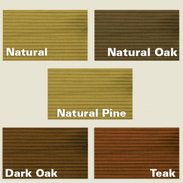 Ronseal Ultimate Protection Decking Oil Colours