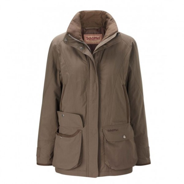 Schoffel Ladies Olive Superlight Ghillie Coat