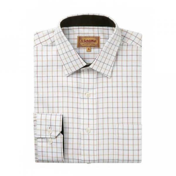 Schoffel Burnham Tattersal Check Shirt