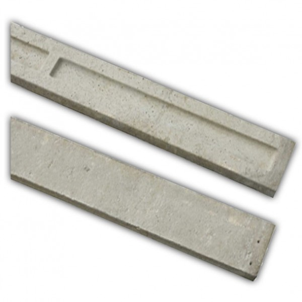 Concrete Recessed Gravel Board 6""