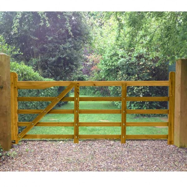 Suffolk Timber Planed Field Gate 8ft