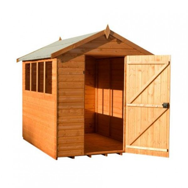Garden Shed 8ft x 6ft Super Apex