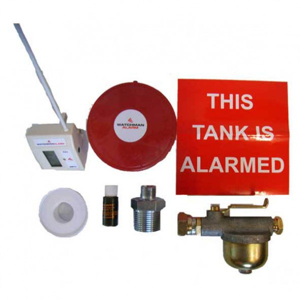 tank pack with watchman alarm