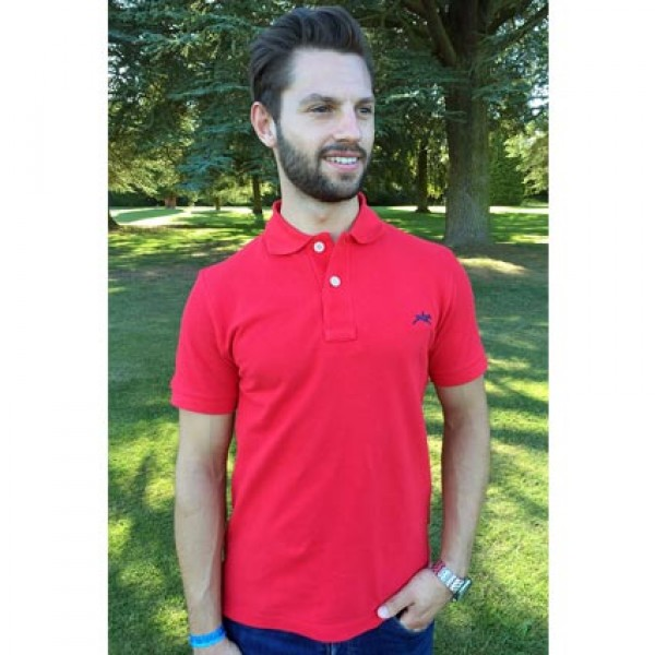 Teddy Edward Cottesmore Red Polo Shirt
