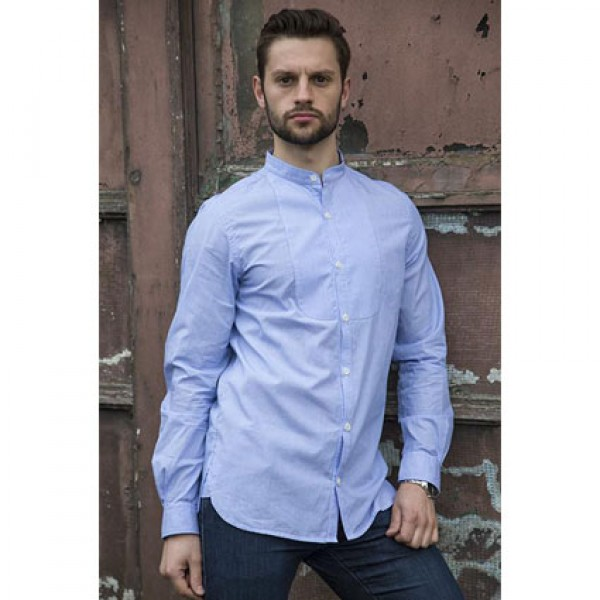 Teddy Edward Meynell Grandad Collar Shirt