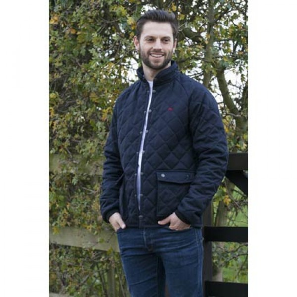 Teddy Edward Old Berkshire Quilted Coat