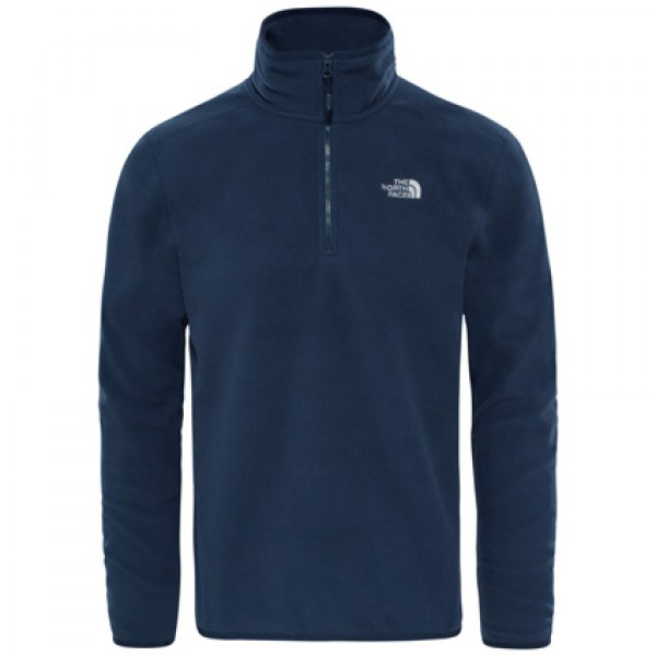 The North Face 100 Glacier Urban Navy 1/4 Zip Fleece Jacket