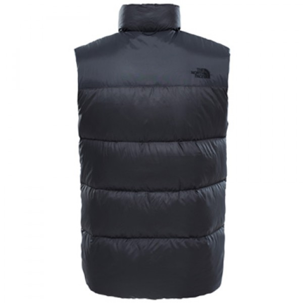 The North Face Asphalt Grey Nuptse III Gilet Vest