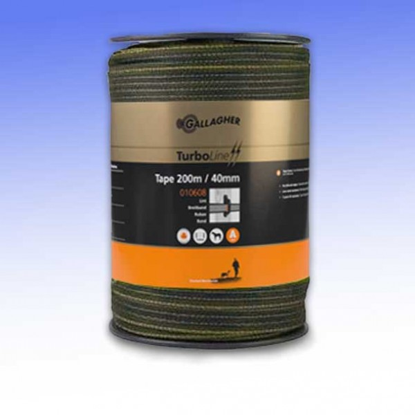 Turbostar 40mm Electric Fencing Tape Gallagher