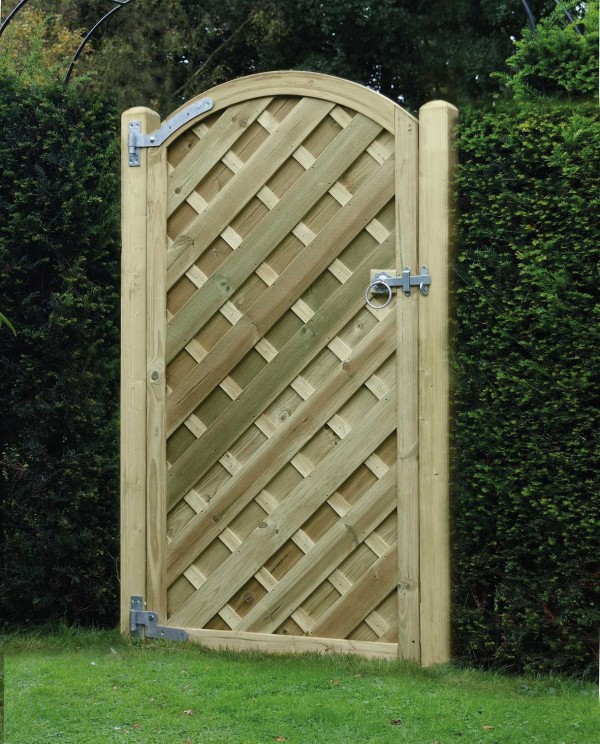 Garden Gate Madrid Arched Panel VAG180