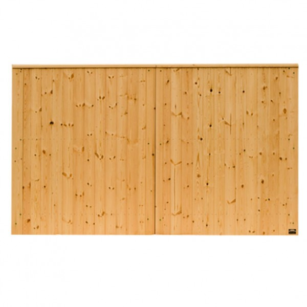3000mm VIking Fully Boarded Planed Softwood Gates