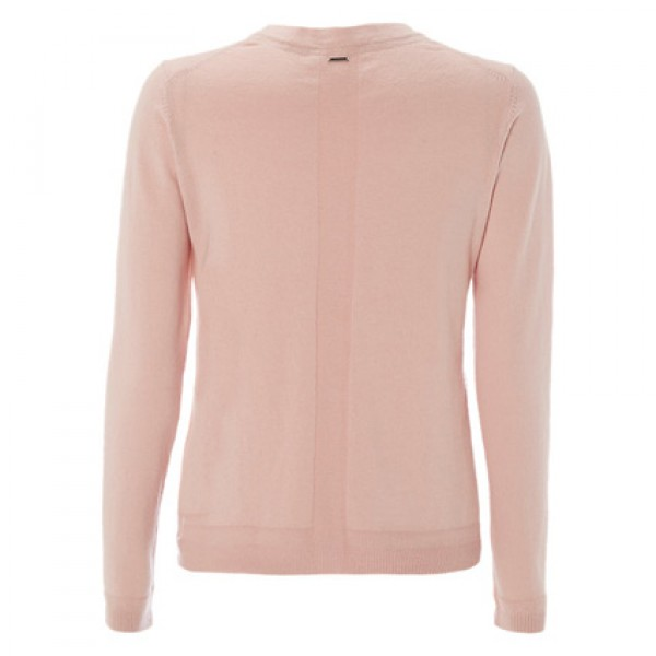 White Stuff Ditsy Pink Forest Crew Cardigan