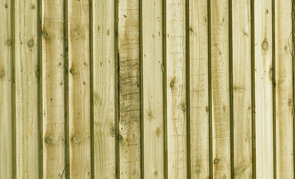Close Board Feather Edge Fencing Bay Materials