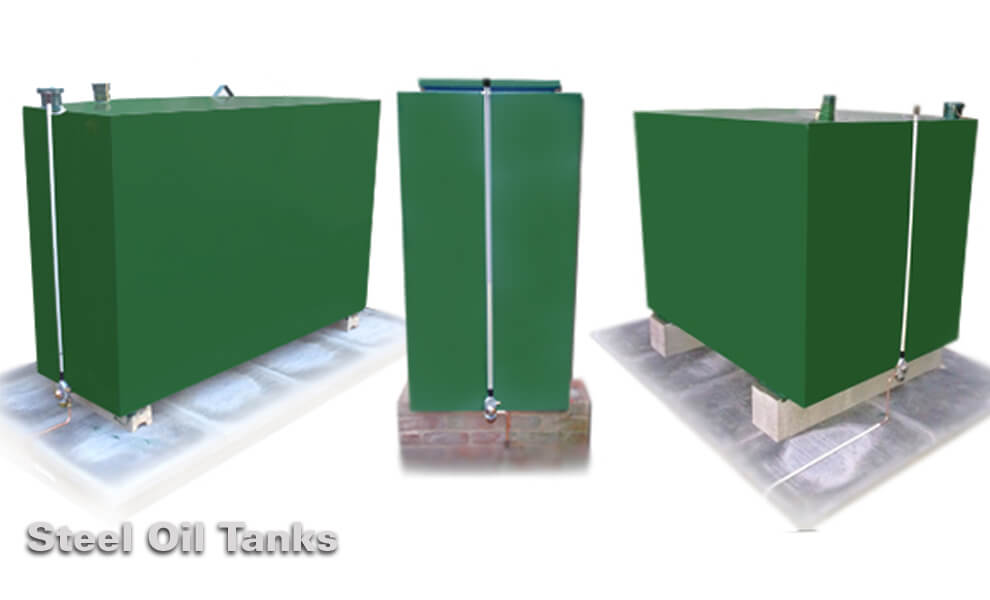 Steel Heating Oil Storage Tanks With Free Delivery