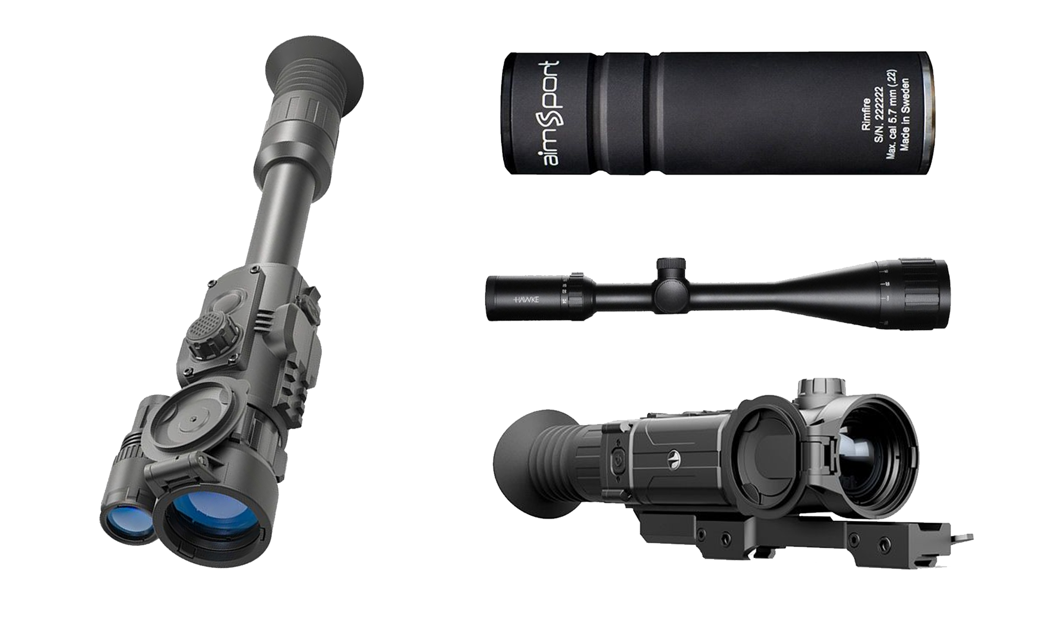 Scopes, Mounts & Silencers