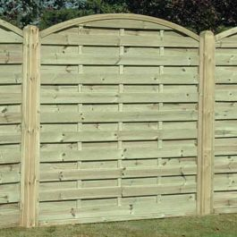 Fence Panel Arched Ah180 Fencing Panels