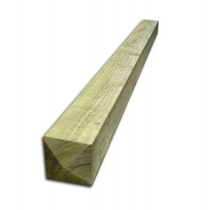 1.8 m x 150mm x 150mm Timber Gate Posts Four Way Weathered Sawn