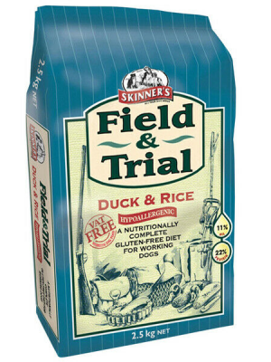 Skinners Field & Trial Duck & Rice Dog Food - 2.5kg