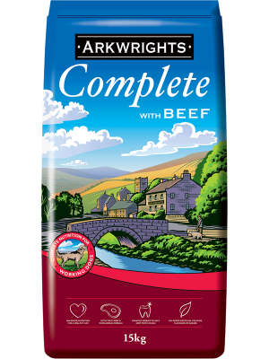 Arkwrights Beef Dog Food - 15kg