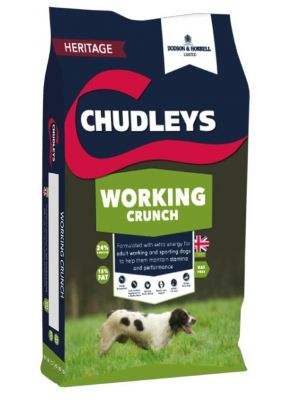 Chudleys Working Crunch Dog Food (Working Range) - 15kg