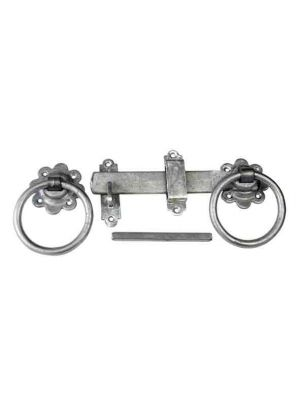 Galv 5 Ring Gate Latch for Garden Gates