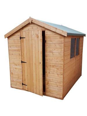 Norfolk Super Apex Shiplap Shed 8ft x 6ft