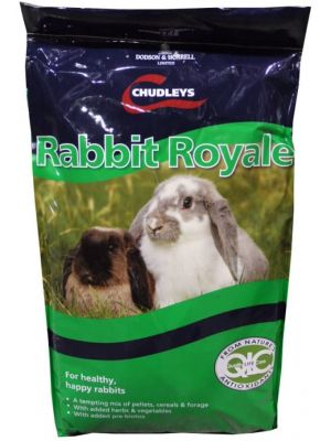 Chudleys Rabbit Royale Rabbit Food - 15kg