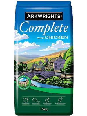 Arkwrights Chicken Dog Food - 15kg