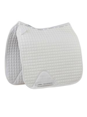 Weatherbeeta Prime Dressage Saddle Pad | White