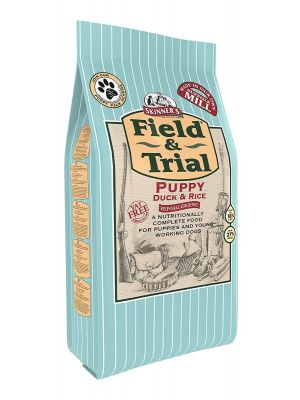 Skinners Field & Trial Puppy Duck & Rice Dog Food 15kg