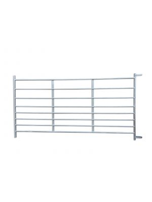 Galvanised Metal 8 Rail Alpaca Hurdle 8ft