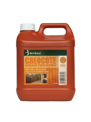 Creosote Substitute Light Brown Creocote 4 Litre