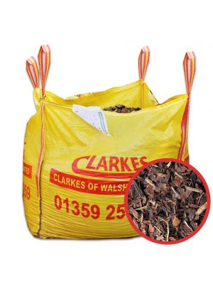 Bark Landscaping Wood Chippings Bulk Bag