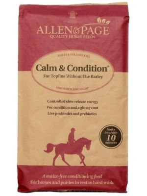 Allen & Page Calm & Conditioner Horse Feed - 20kg